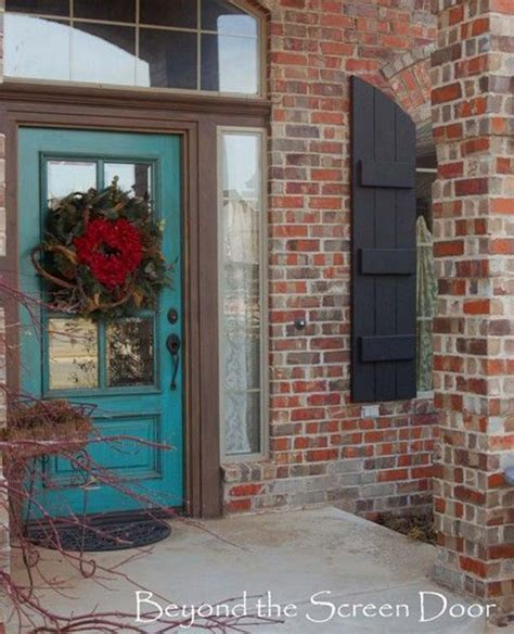 32 bold and beautiful colored front doors amazing diy interior home design