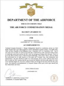 meritorious service medal citation template meritorious service medal citation exles the