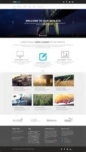 free psd template free business web template psd css author