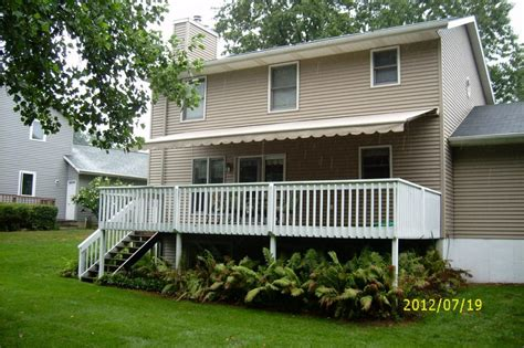 Outdoor Awnings For Decks Deck And Patio Awnings In Grand Rapids