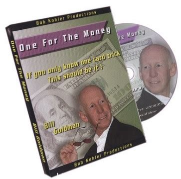 Magic One For The Money by One For The Money By Bill Goldman 3 00