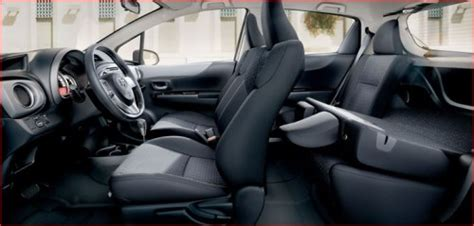 2013 Toyota Yaris Interior by 2013 Toyota Yaris Hatchback Review