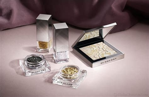 New Burberry Gold Glow Powder No01 Gold Shimmer Limited Edition introducing the burberry runway make up collection