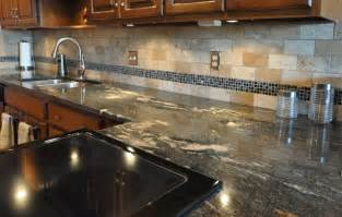 How To Install Subway Tile Backsplash Kitchen Granite Countertops And Tile Backsplash Ideas Eclectic