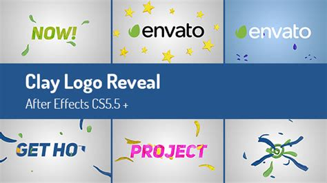 Clay Logo Reveal After Effects Template Videohive 15881489 Ae Templates Videohive Photo Reveal After Effects Template