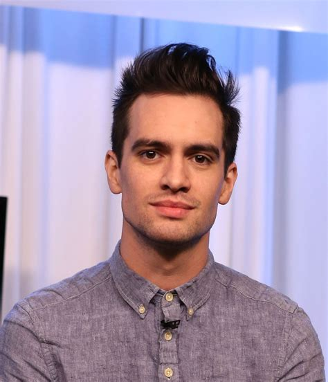 brendon urie brendon urie in panic at the disco visits music choice 5