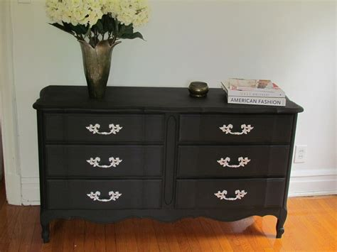 chalk paint black diy craigslist find painted with chalkboard paint for a