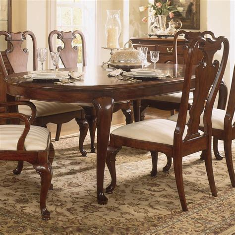 american drew cherry grove dining room american drew cherry grove 45th traditional oval dining