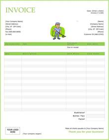 free house cleaning templates top 21 free cleaning service invoice templates demplates