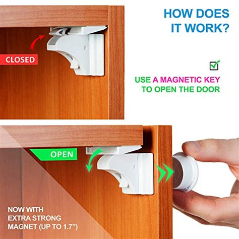 baby proof cabinet locks baby proof magnetic cabinet locks for child safety blue