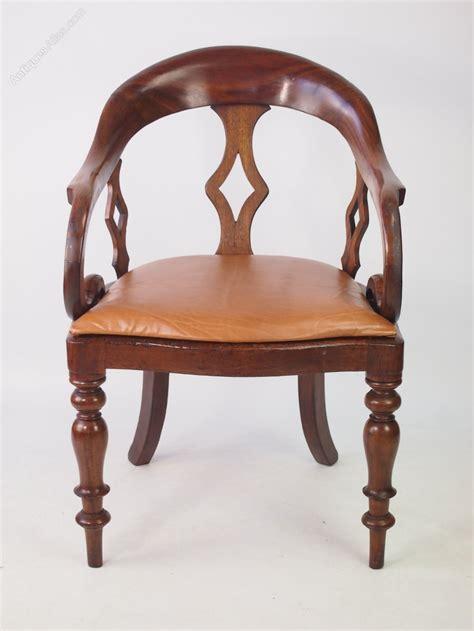 antique desk chairs antique mahogany desk chair antiques atlas
