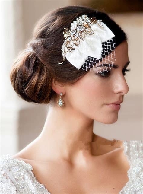 Vintage Wedding Hairstyles by Beaut 233 Coiffures Superbes R 233 Tro Coiffures De Mariage