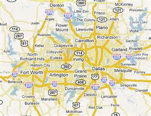 dallas fort worth metro area web design development