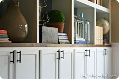 diy built ins cabinets as bases awesome diy and home