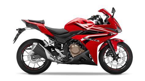 honda range of motorcycles specifications cbr500r sport range