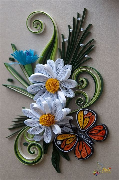 Paper Quilling Flowers - 304 best filigrana en papel quilling paper images on