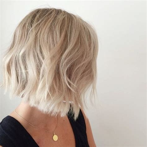 hair with slight waves choppy bobs bobs and beachy waves on pinterest