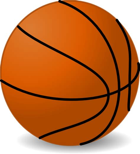 basketball clipart clip at clker vector clip