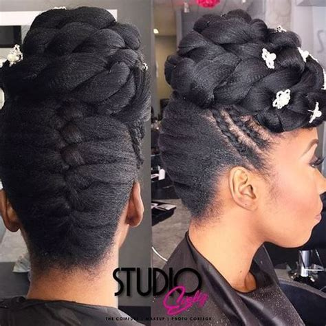 Bridesmaid Hairstyles For Black Hair by Best 10 Updos For Black Hair Ideas On Medium