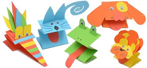 Easy paper puppet craft living and loving