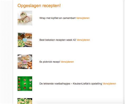 keuken liefde recepten opgeslagen recepten keuken liefde