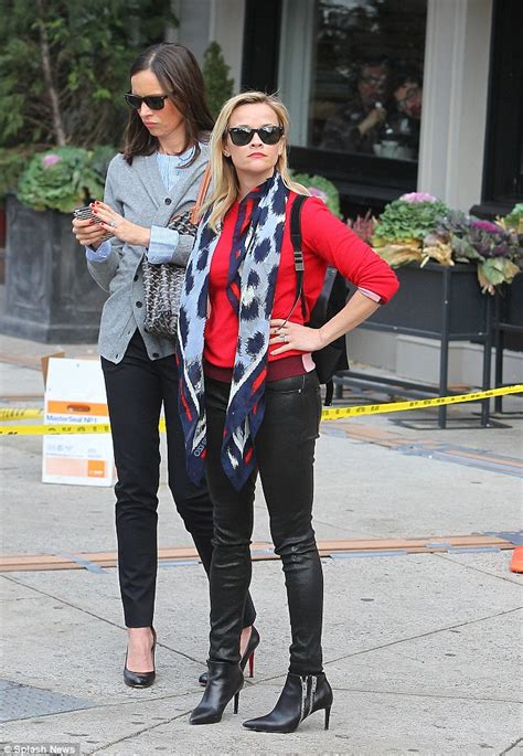Reese Witherspoons New Look by Reese Witherspoon Tries To Look Edgy Did She Nail It