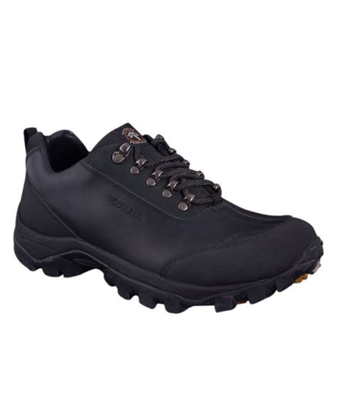 Waterproof Casual Elegan woodland black outdoor casual shoes buy woodland black outdoor casual shoes