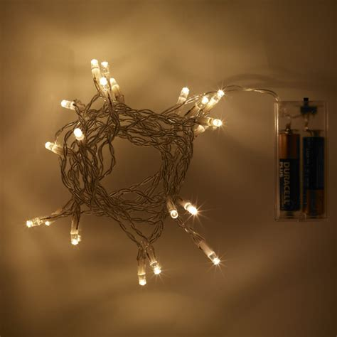 20 led warm white battery operated fairy lights