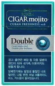 bohem cigar mojito double