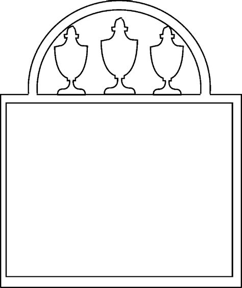 gravestone template cliparts co