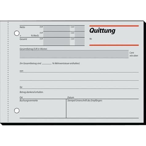 Word Vorlage Quittungsbeleg Sigel Quittung Rc021 Recycling Mit Blaupapier A6quer Inh 100 Blatt Auf Conrad De