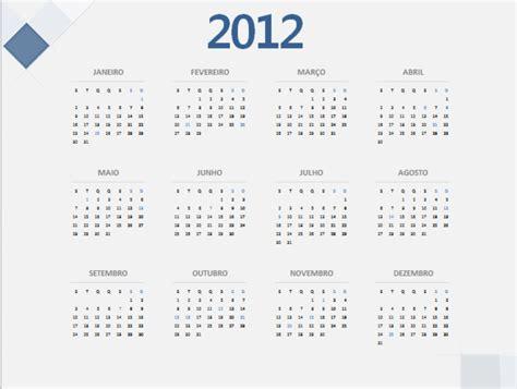 Calendario De 2012 Calend 225 2012 Anual 2