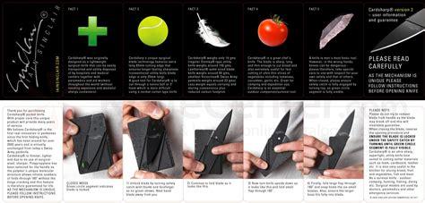 Terbaru Sinclair 2 Cardsharp Knife Black iain sinclair cardsharp 2 credit card folding safety knife 2 6 quot black blade knifecenter cardb2