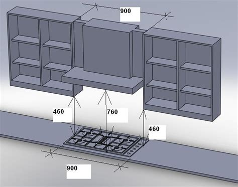 Mounting Kitchen Cabinets by Gas Regulations Regarding Hob To Kitchen Wall Unit Spacing