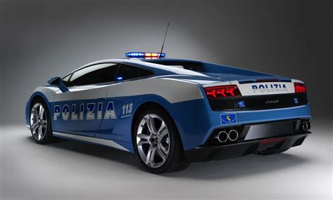 police lamborghini lamborghini gallardo lp560 4 gets turned into police