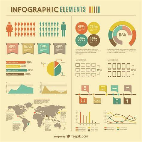 desain grafis free download free 5 set infographic element untuk desain grafis