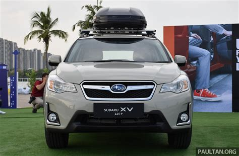 subaru thailand 2016 subaru facelift launched in bangkok m sian debut