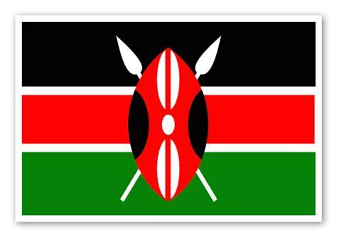 Mirror Stickers For Wall kenia flagge stickerapp