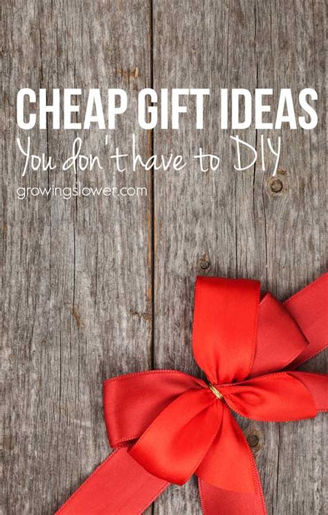 cheap gifts 24 cheap gift ideas you don t to make yourself