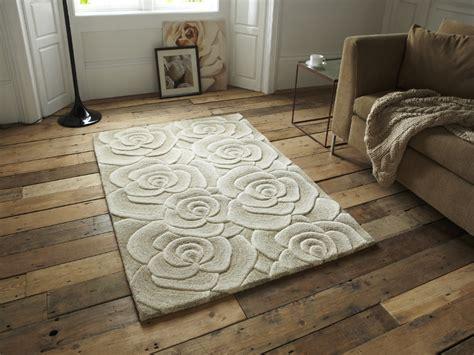 what is tufted wool rug floral design tufted 100 wool rug large 3d flower effect floor mat ebay