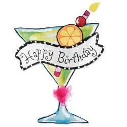 Burlap door hanger amp party banner happy birthday martini