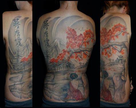 japanese tattoo rabbit full back geisha japanese tattoo by white rabbit tattoo