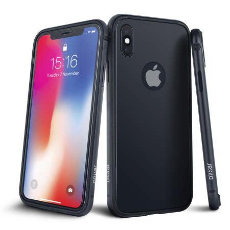iphone xs olixar helix sleek 360 protection space grey