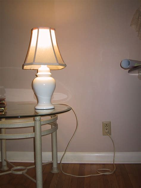 Modern Wall Outlets by File Mains Powered Electric Lamp Jpg Wikimedia Commons
