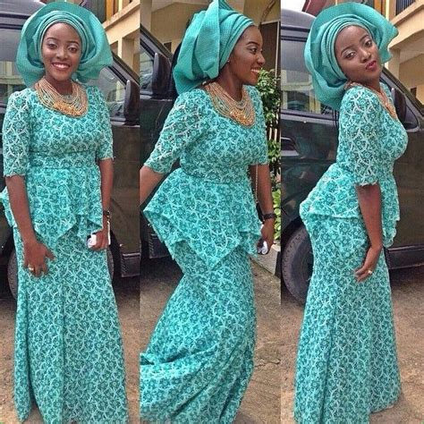 latest ashoebi lace styles top 10 beautiful and lovely latest aso ebi styles 2016