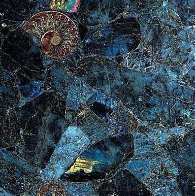 blue labradorite tile countertop from canada