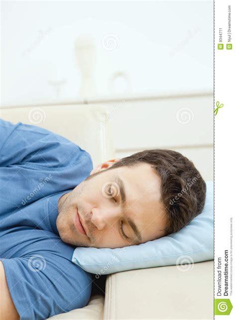 man sleeping on couch man sleeping on couch stock image image 9344711