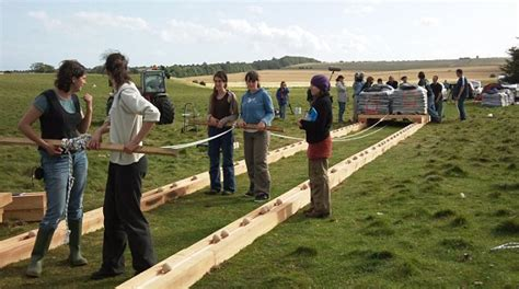 stonehenge builders  ball bearings  move giant