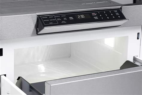 24 Sharp Microwave Drawer by Smd2470as Y Microwave Drawer Oven 24 Inch Drawer Ovens