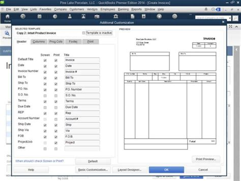 date format quickbooks additional customization options for quickbooks 2014